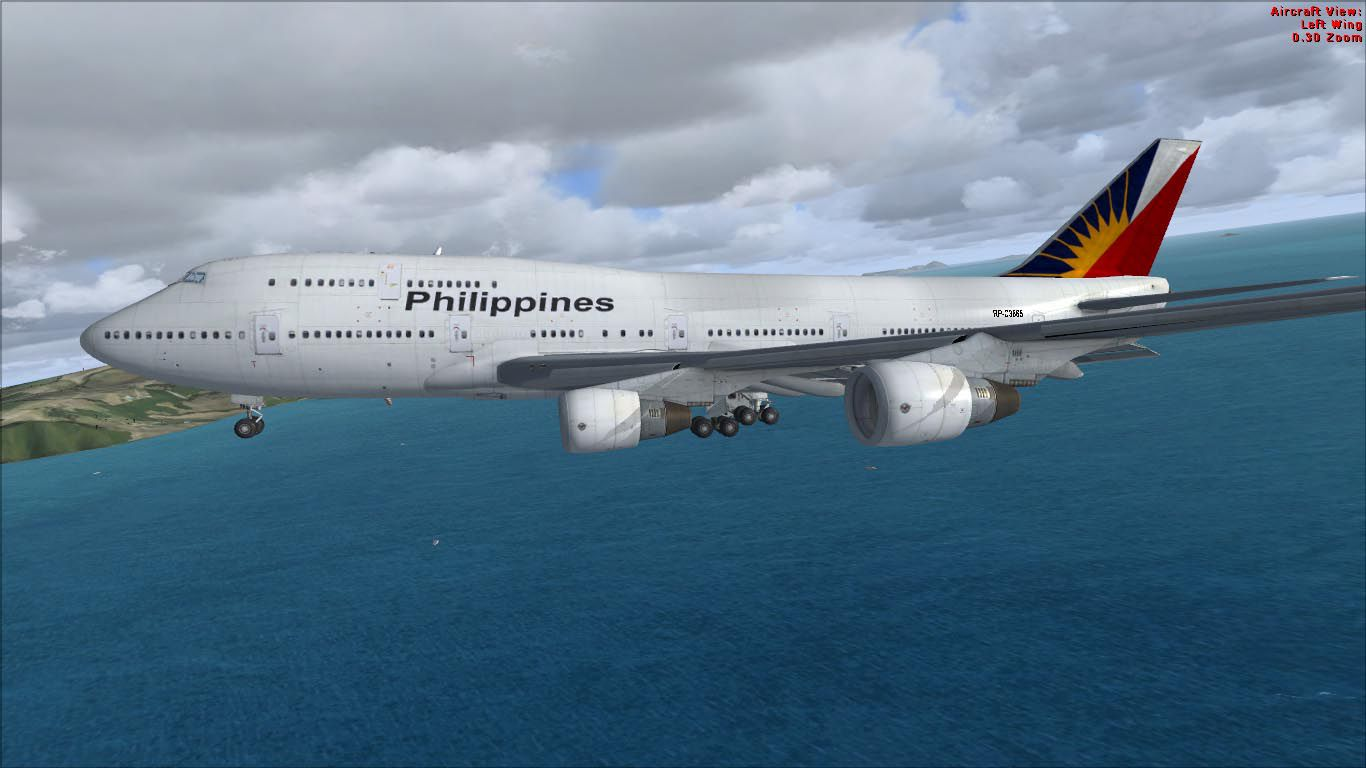 A380 Wallpaper Hd Philippine Airlines Boeing 747 400 For Fsx