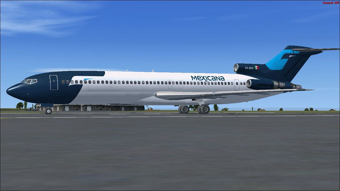 Mexicana Boeing 727 200 Repaint For Fsx