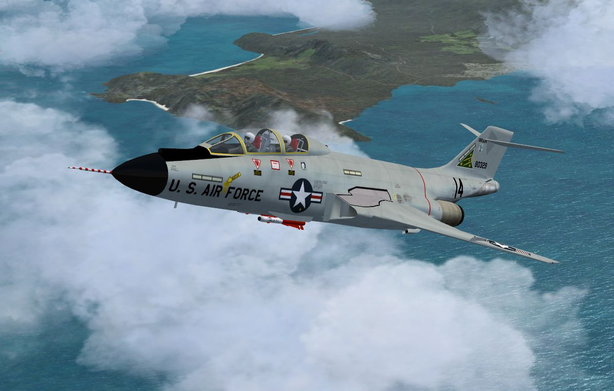 McDonnell F101B New ANG Textures for FSX