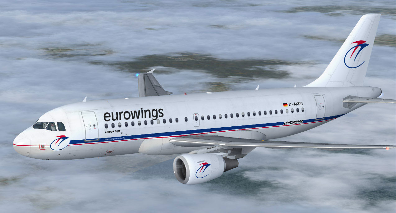 Eurowings Airbus A319100 for FSX