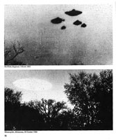 Image of UFO in Sheffield, UK and Minneapolis, USA