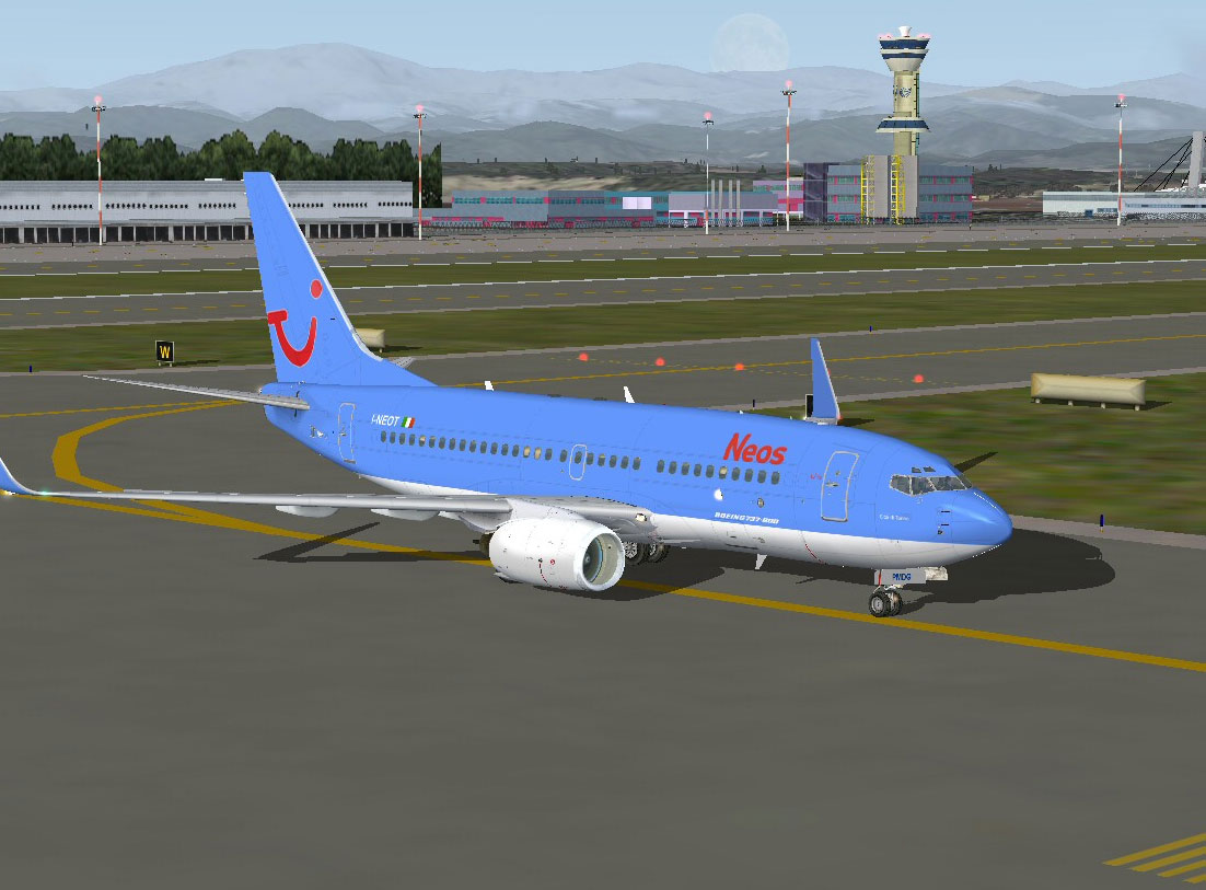 Neos Boeing 737-700 for FS2004