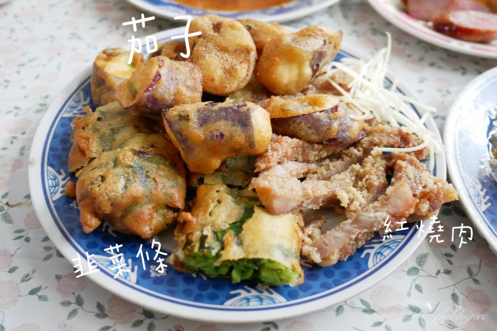 英才路黑輪攤:30年古早味~糯米腸、香腸、炸粿、蚵嗲、關東煮、豬油拌飯、肉圓 – 飛天璇的口袋