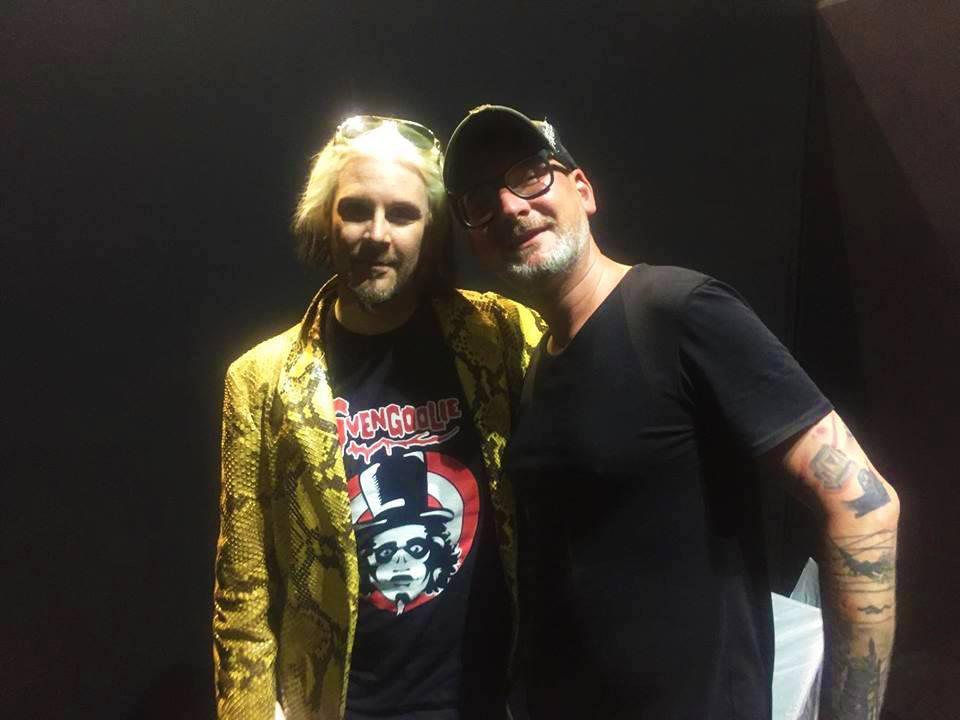 John 5 (Rob Zombie) et moi