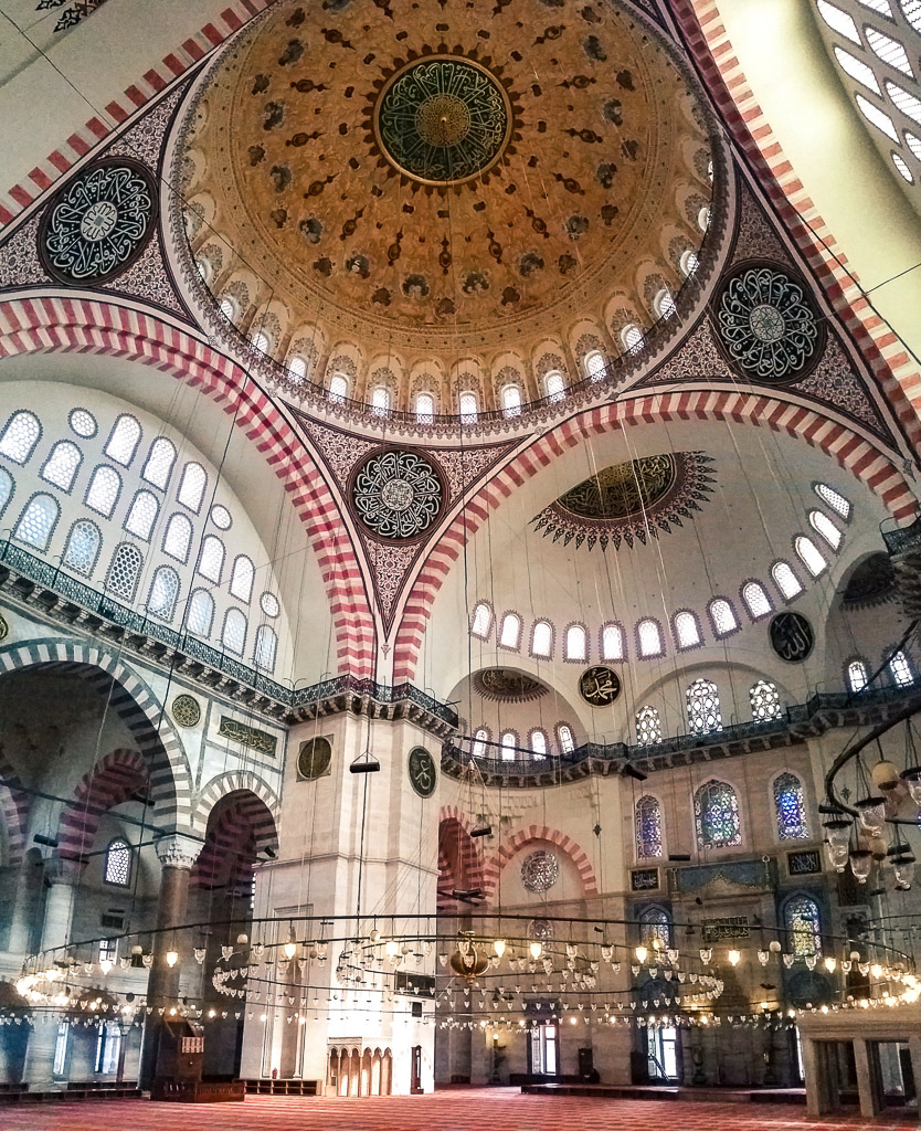 things to do in istanbul - suleymaniye mosque