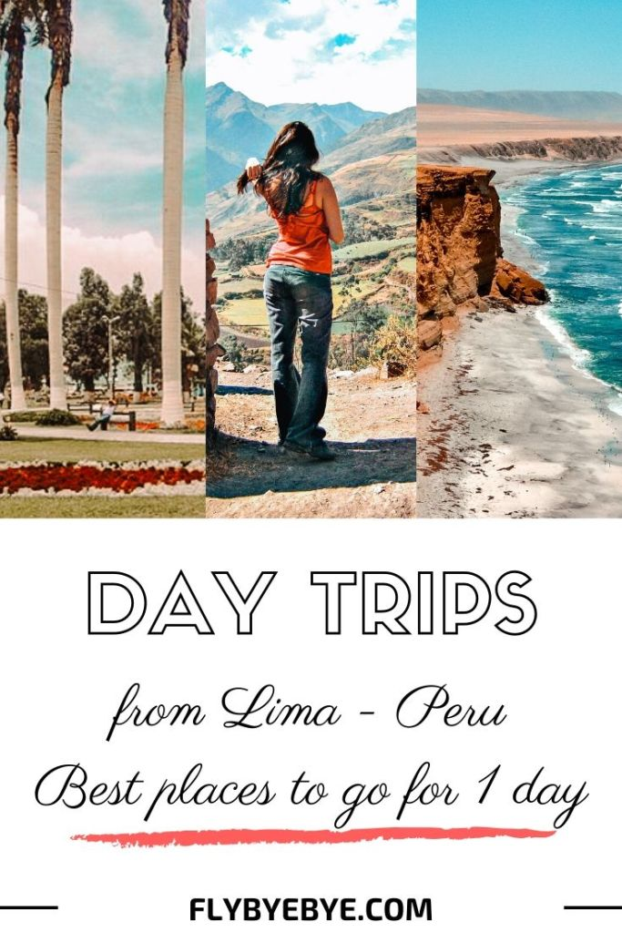 The best day trips from Lima Peru. A list of the most exciting one-day trips from Lima. #peru #lima