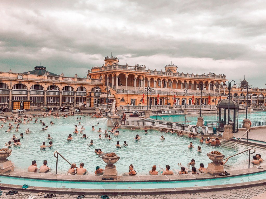 Things to do in Budapest - Szechenyi Bath