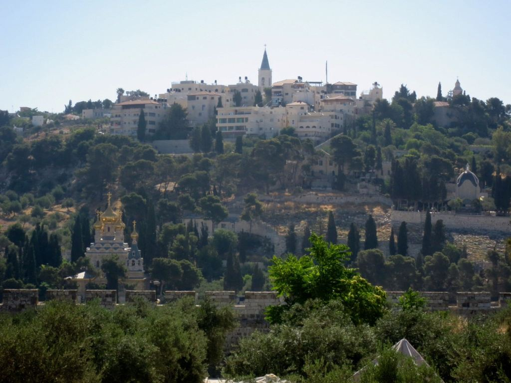 mount of olives israel