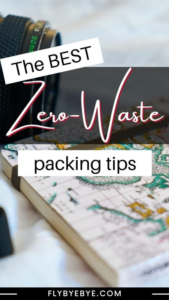 List of zero waste travel essentials. What to pack on your trips to reduce waste. Our suggestions of where to find the best items for sustainable travel.
