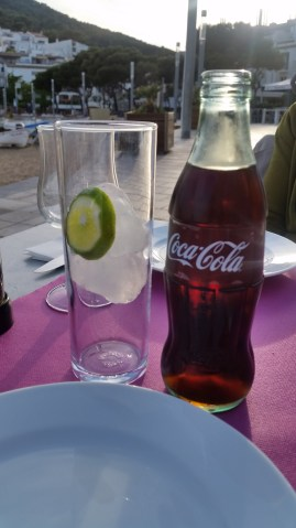 Coke & Lime on th beach