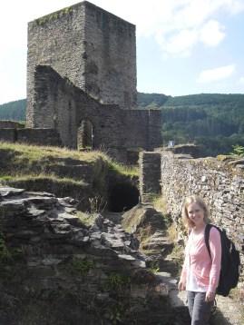 Esch sur Sure castle ruins