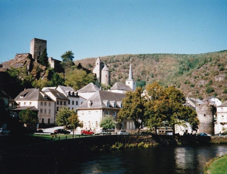Esch sur Sure city scape