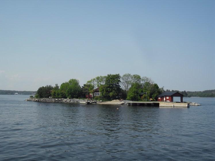Small Island in Stockholm Archipelago