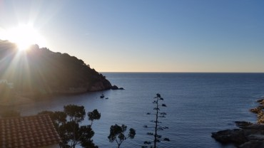 Sunrise at Tamariu, Spain