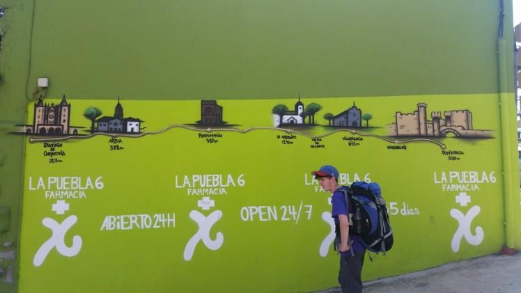 Green mural