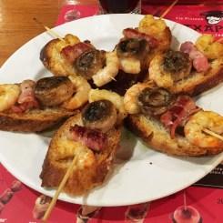 Shrimp Pinxchos