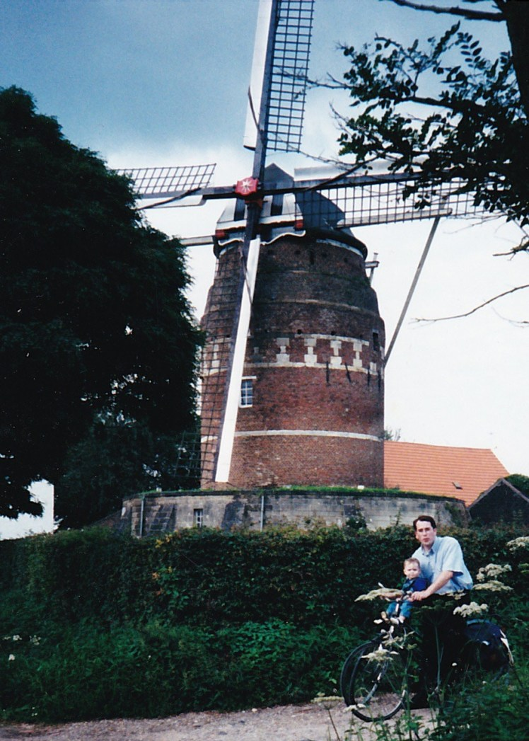 Windmill with Papa