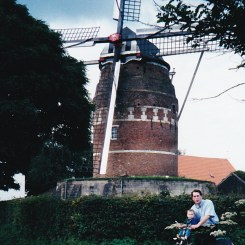 Windmill with Papa