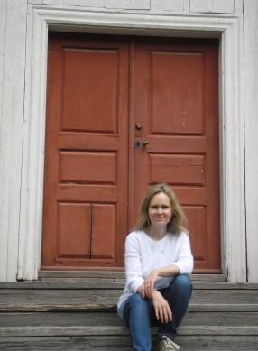 Christine at Doorway