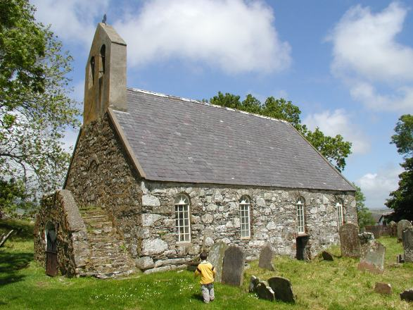 Ancient celtic chapels, Isle of Man
