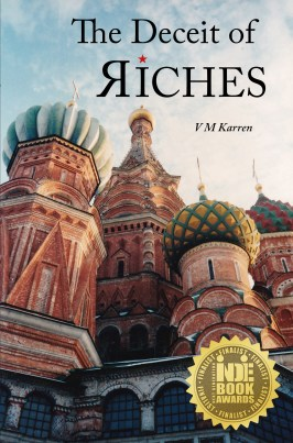 Deceit of Riches FRONT COVER with medal