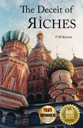 Deceit of Riches FRONT COVER (with medals)
