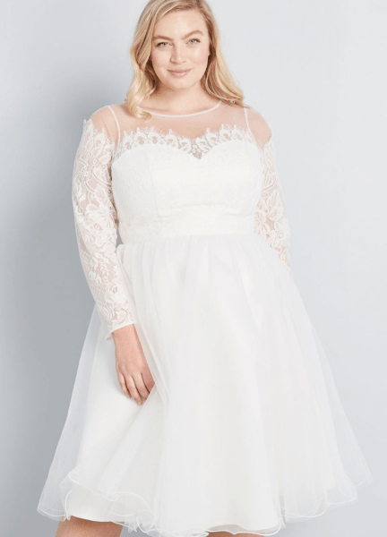 d91589d17a31 17 Plus Size Little White Dresses | Fly By Night Wedding