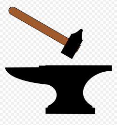 anvil clipart forge hammer clipart [ 840 x 997 Pixel ]