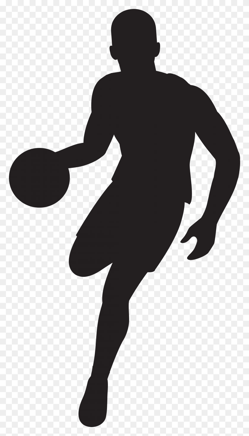 hight resolution of basketball player silhouette clip art gallery football player clipart free