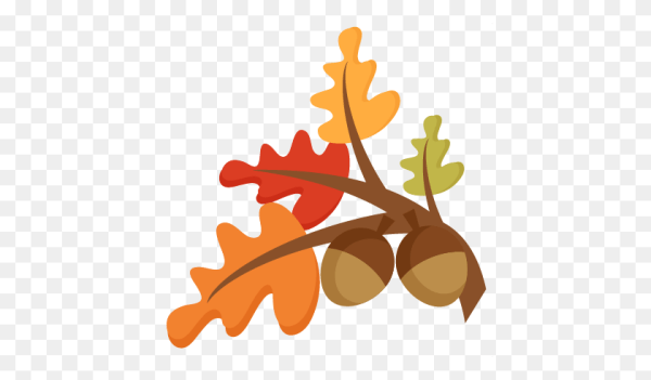 cute autumn leaves clip art - free