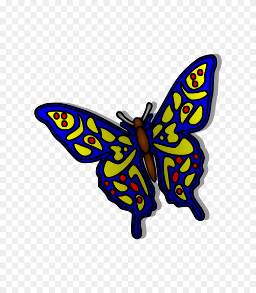small resolution of blue butterfly clip art butterfly clipart png