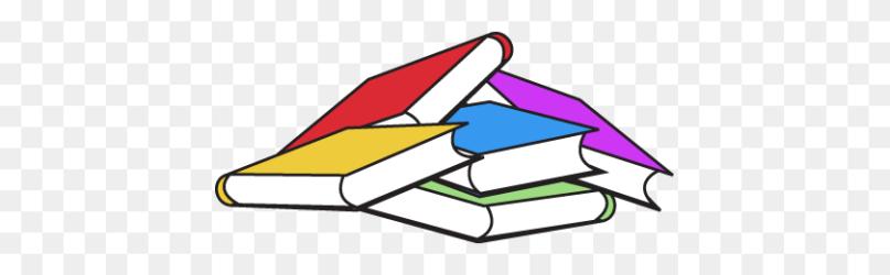 Books Transparent Background