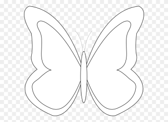 Monarch Butterfly Outline Drawing Template Butterfly Clipart Black And White Outline Stunning free transparent png clipart images free download