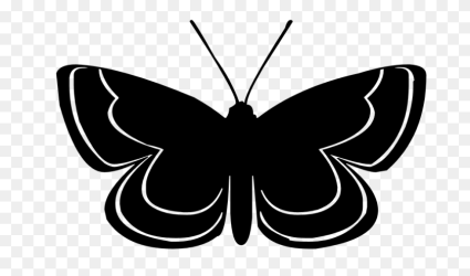 Butterfly Silhouette Clip Art Flying Butterfly Clipart Stunning free transparent png clipart images free download
