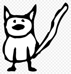 Cat Clip Art Black And White Simple Cat Clipart Stunning free transparent png clipart images free download