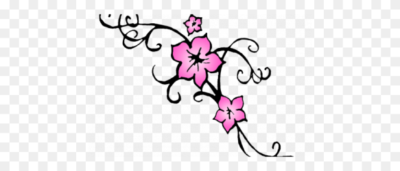 Cherry Blossom Flower Tattoo Outline Tat Ideas Cherry Blossom Clipart Stunning free transparent png clipart images free download
