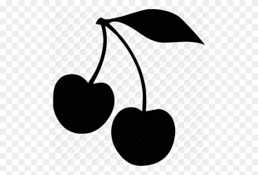 Cherry Clipart Cherrie Cherry Clipart Black And White Stunning free transparent png clipart images free download
