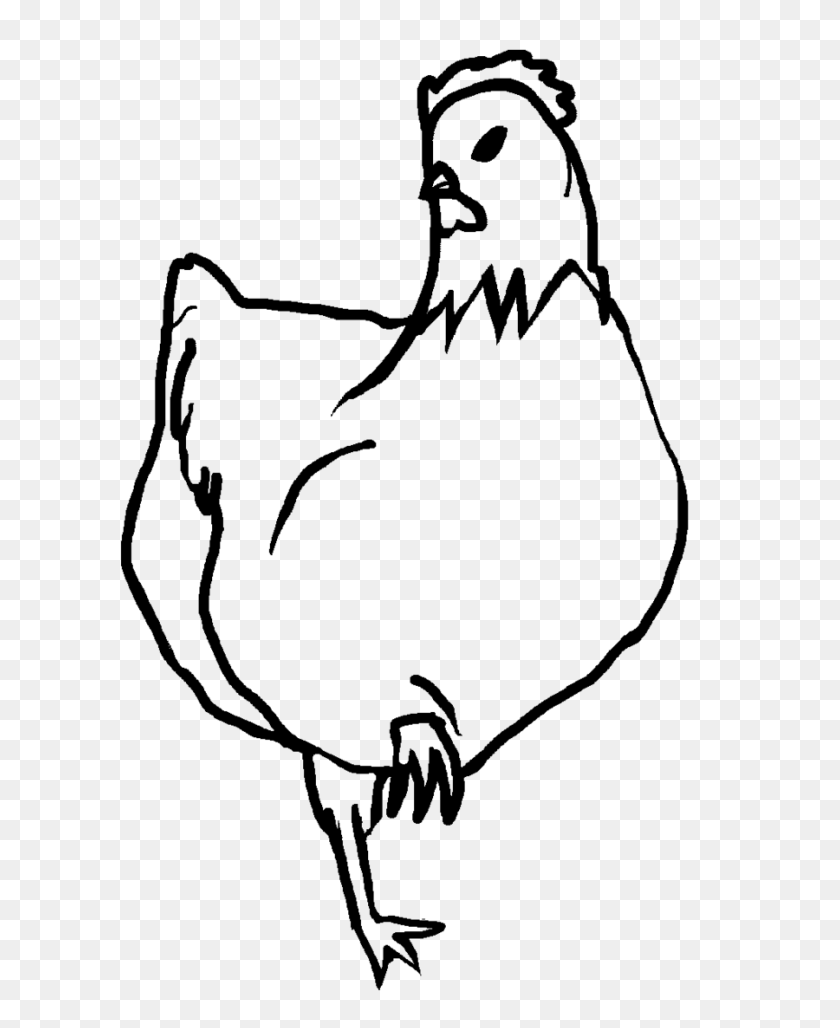 hight resolution of chicken line art chicken clipart black and white