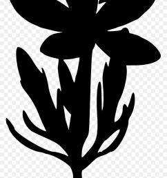clipart flower silhouette clip art [ 840 x 1400 Pixel ]