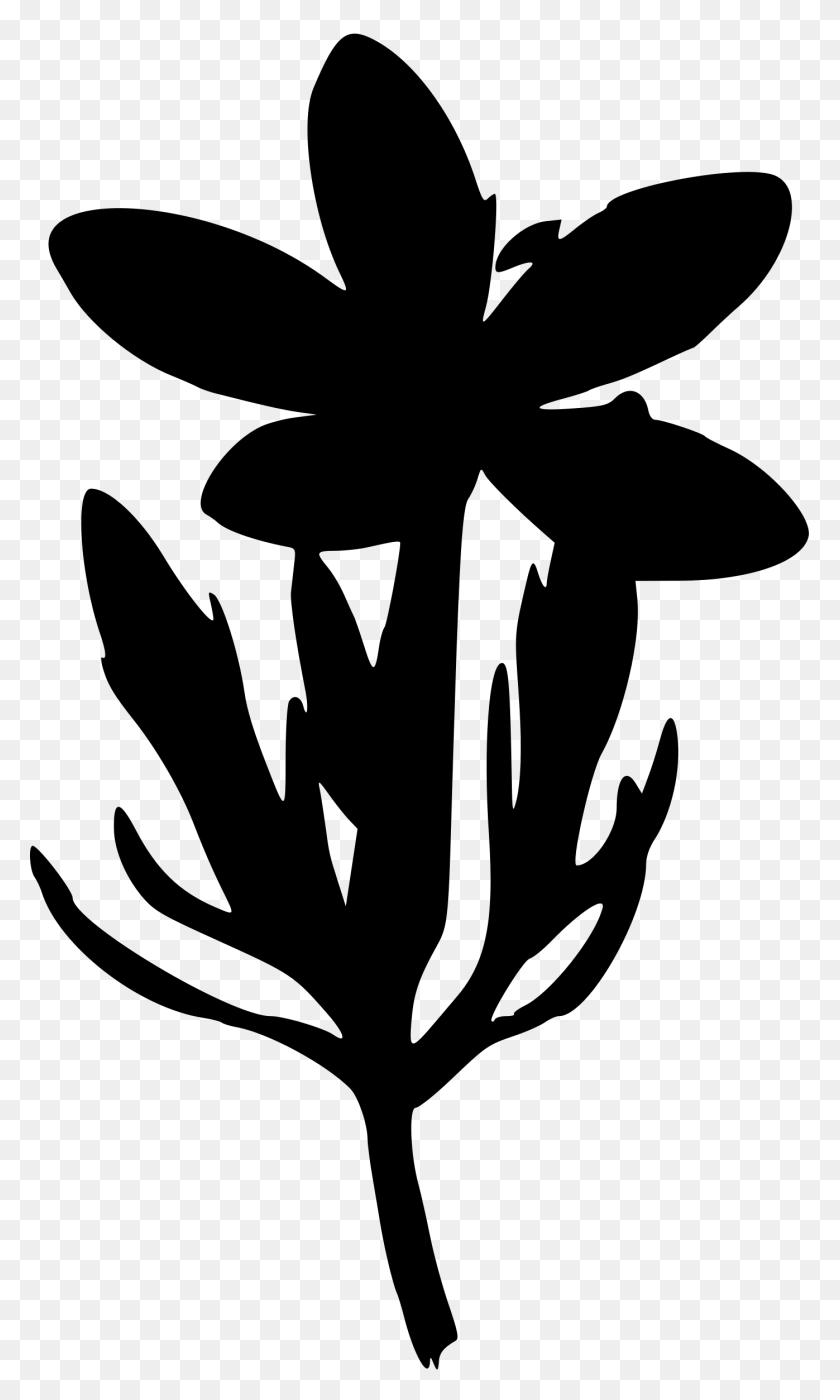 medium resolution of clipart flower silhouette clip art
