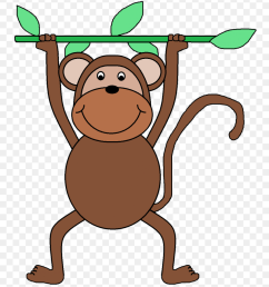 displaying funny monkey clipart clipartmonk goodbye clipart free [ 840 x 961 Pixel ]