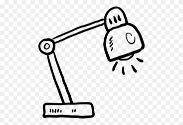 Drawn Lamp Black And White Cartoon Lamp Clipart Black And White Stunning free transparent png clipart images free download