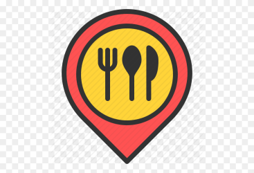 Eat Food Location Map Meal Pin Restaurant Icon Restaurant Icon PNG Stunning free transparent png clipart images free download