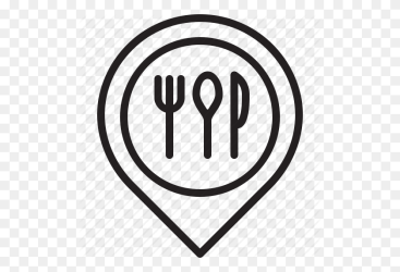 Eat Food Location Map Pin Restaurant Icon Food Icon PNG Stunning free transparent png clipart images free download