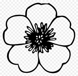 Beautiful Garden Clipart Black And White