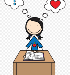 free clipart for teachers for writing clip art images teacher with student clipart [ 840 x 1261 Pixel ]