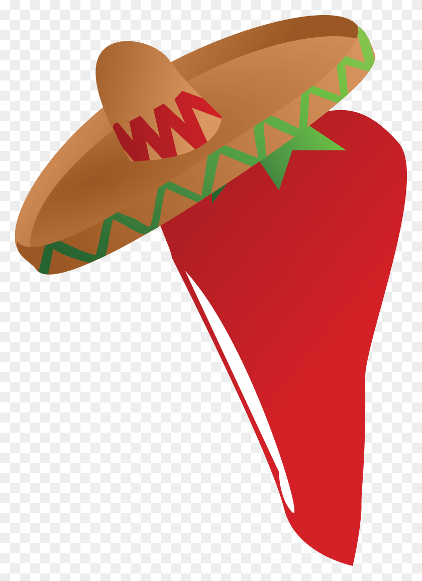 hight resolution of 4000x5620 free clipart of a mexican chili pepper wearing a sombrero hat red pepper clipart