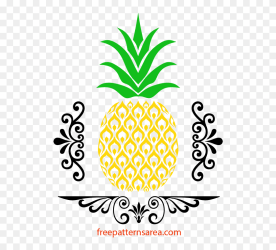 Free Pineapple Stencil Art And Vector Pineapple Top Clipart Stunning free transparent png clipart images free download