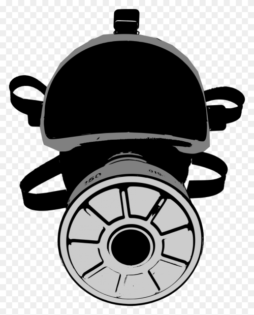 small resolution of gas mask clipart big hockey mask clipart
