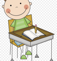 830x1199 girl and boy writing clipart clipart office 2013 [ 840 x 1186 Pixel ]